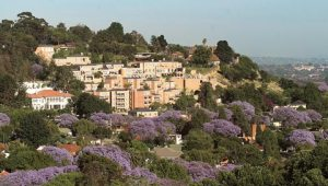 The Westcliff Hotel from a distance